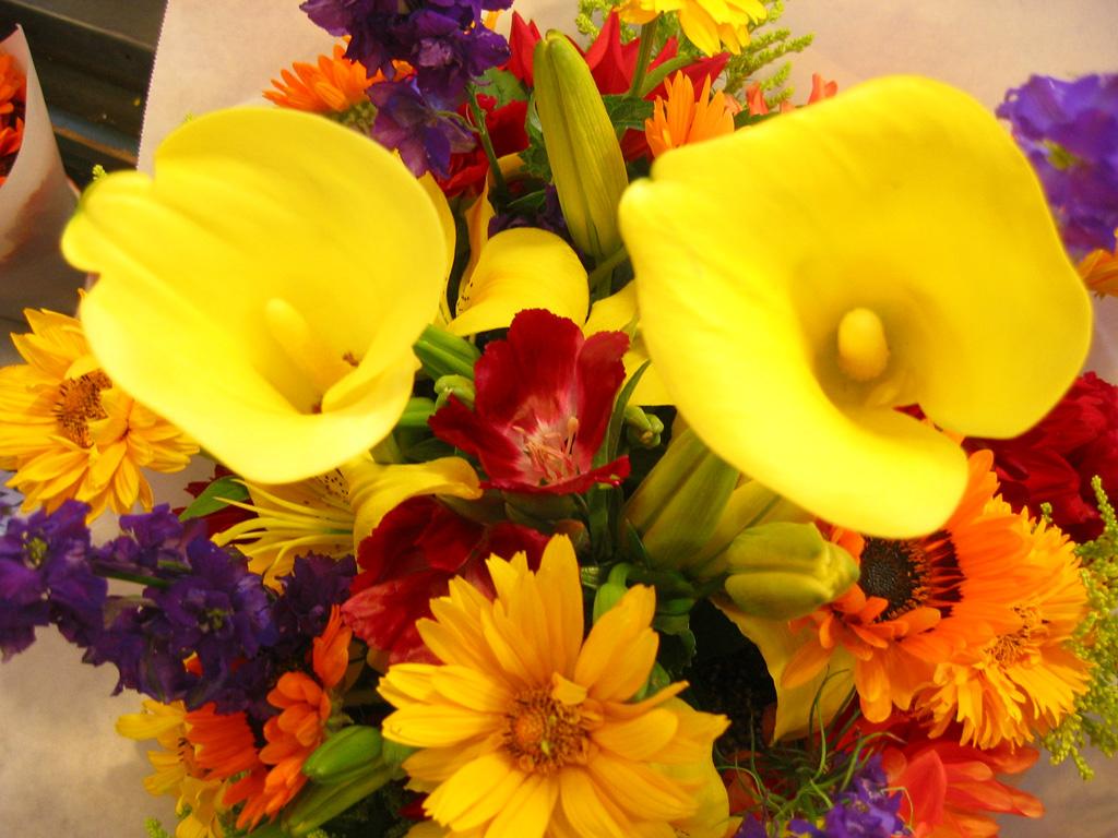 Free Floral Images 28 Arrangement Fleurs