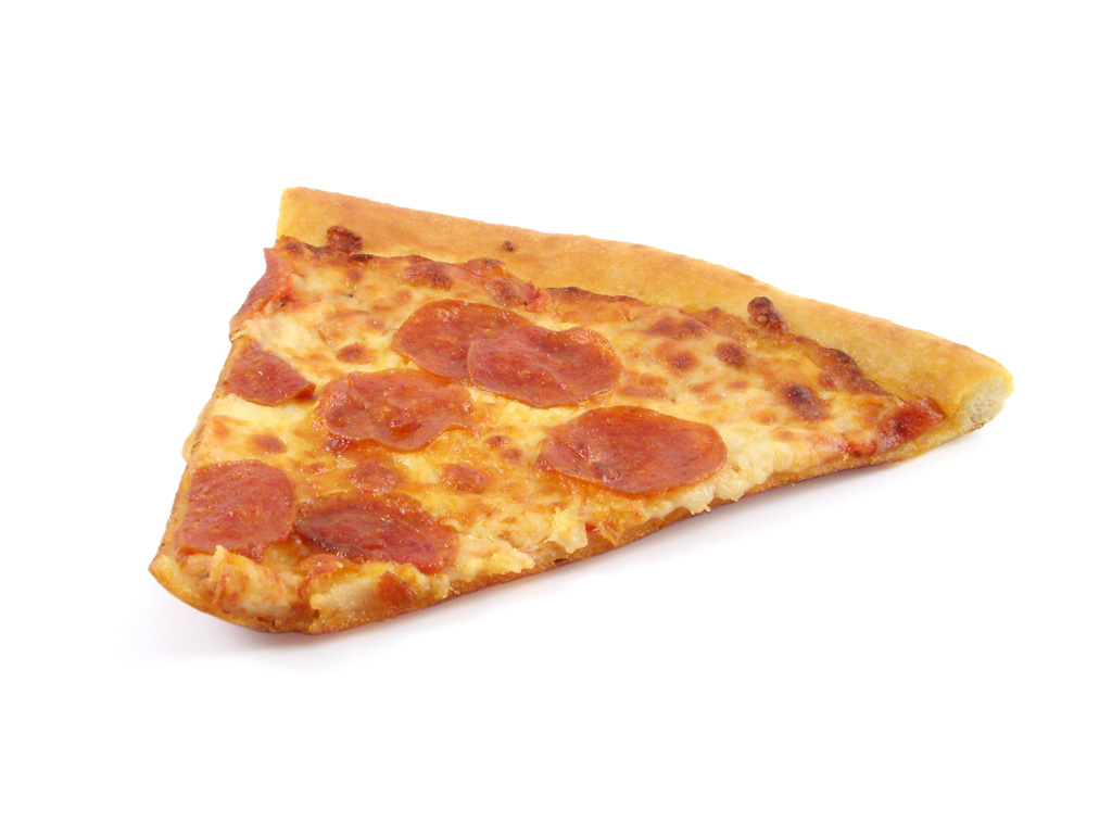 Images of pizza slices