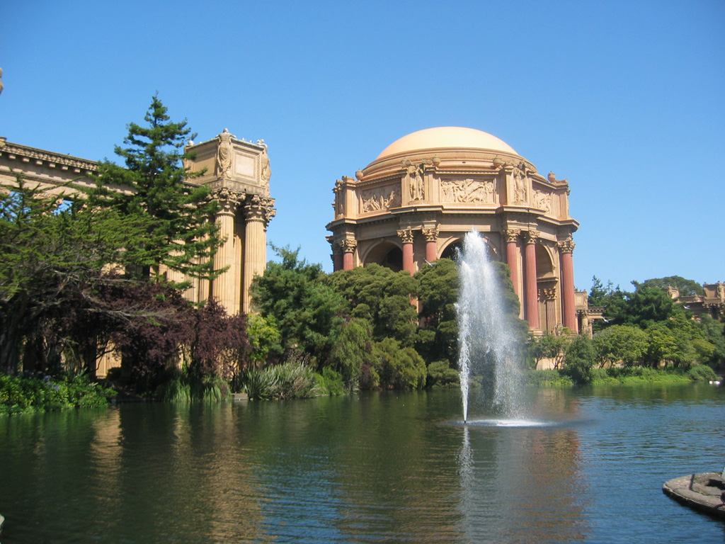 Free pictures and stock photos: palace of fine arts, marina district