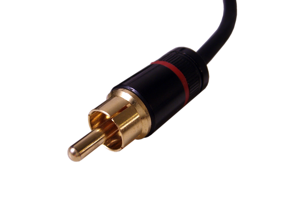 Rca Cable Connectors : Subwoofer not working solved speakers audio